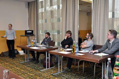 Workshop-Teilnehmer bei Impulse 2017