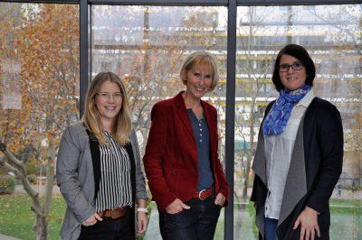 Elena Thiede, Ursula Reuschenbach und Annika Rating