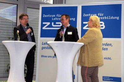 Herr Rumann, Herr Jupe und Frau Dziak-Mahler