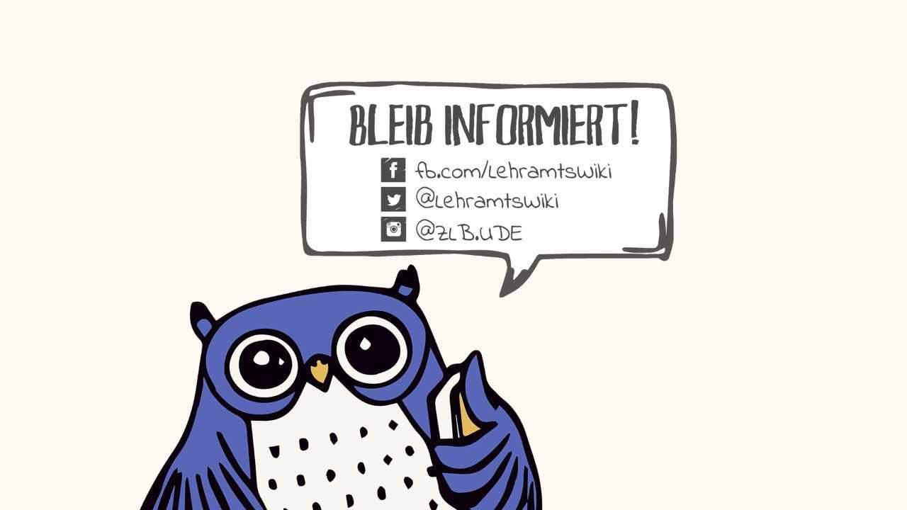 Bleib informiert und nutze unsere Social-Media-Angebote.