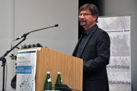 Professor Dr. Stefan Rumann bei der Herbstschule 2017