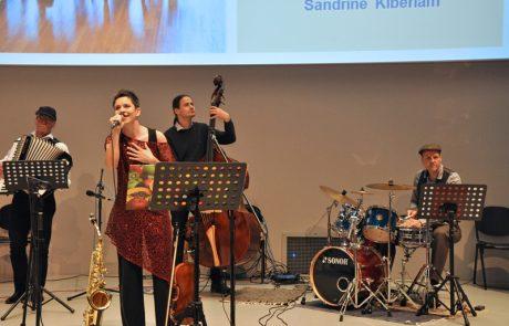 Die Band Crêpe Suzette auf der Bühne