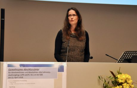 Dr. Anja Pitton, Geschäftsführerin des Zentrums für Lehrerbildung an der UDE
