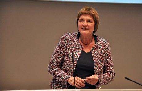 Ursula Mensel, die Leiterin des ZfsL Krefeld