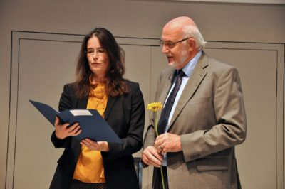 Dr. Anja Pitton und Volker Rennert