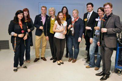 Das ZLB_Team nach der Abschlussfeier im Oktober 2017