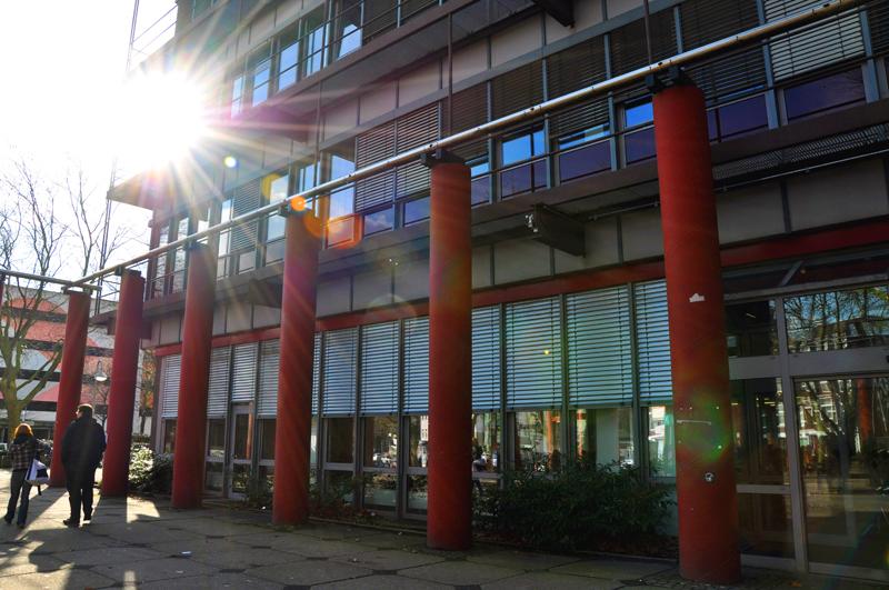 Der Glaspavillon am Campus Essen